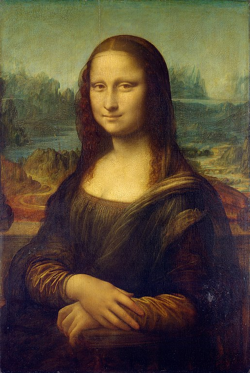 The Mona Lisa, the most famous painting in the world